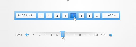 pagination designs and tags