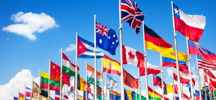 World Flags Multilingual Tag
