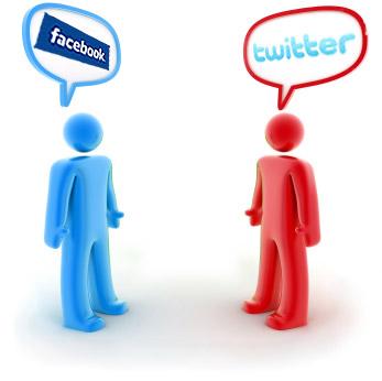 Marketing tips using facbook twiiter