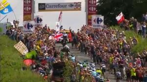 LeTour crowds