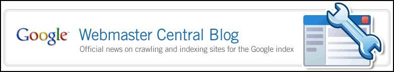 Google Webmaster Blog
