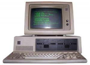 old computer ibm