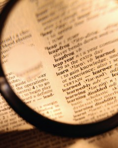 Magnifying glass keyword research