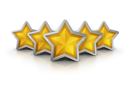 5 star reviews ratings reputation