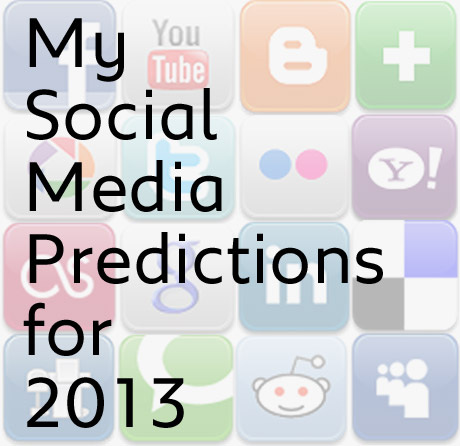 Social Media Predictions 2013