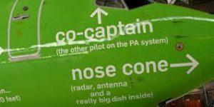kululu plane nose