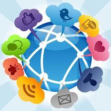 sharing through social media