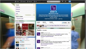 Great Ormond Street Twitter page