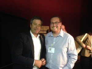 Jonny Ross with John Torode