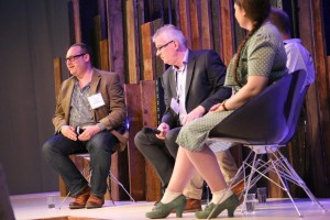 Jonny Ross Chairing Marketing Panel at Moda UK 2015