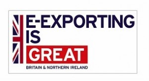 UKTI E-EXPORTING IS GREAT logo