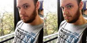 Liam faces with DeepDream