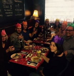jrc.agency team Christmas meal 2015