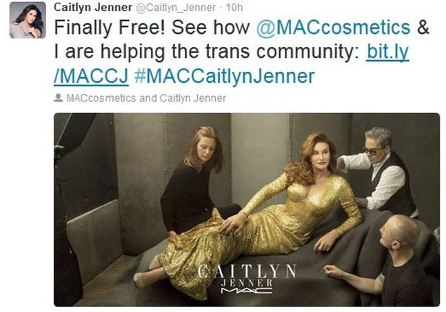Caitlyn Jenner MAC Finally Free