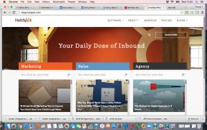 Hubspot blog screenshot 2