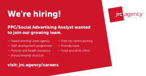 PPC/Social Advertising Analyst - jrc.agency